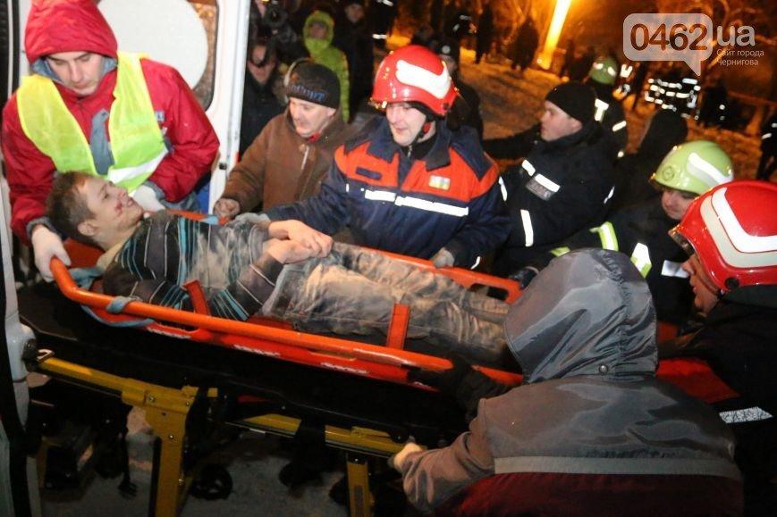 В Чернигове рухнуло общежитие (обновляется), фото-22