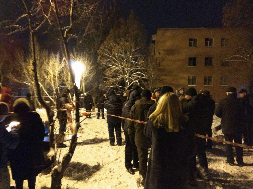 В Чернигове рухнуло общежитие (обновляется), фото-6