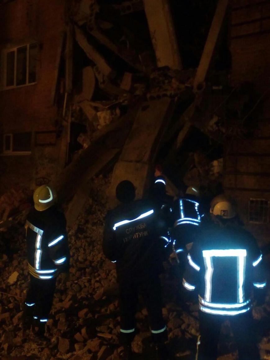 В Чернигове рухнуло общежитие (обновляется), фото-1