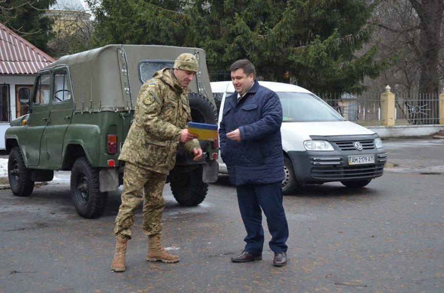 Новоград-Волинська РДА привітала військових у День Сухопутних військ, фото-3