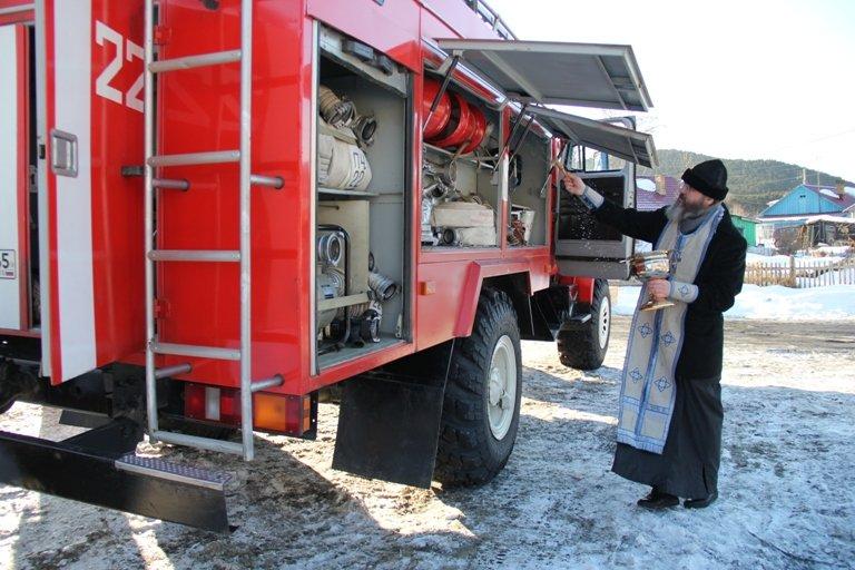 В селе Чапаево Сахалинской области открылся новый пожарный пост, фото-2