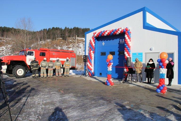 В селе Чапаево Сахалинской области открылся новый пожарный пост, фото-1