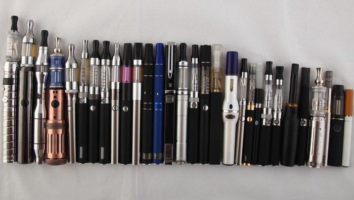 Виды электронных сигарет