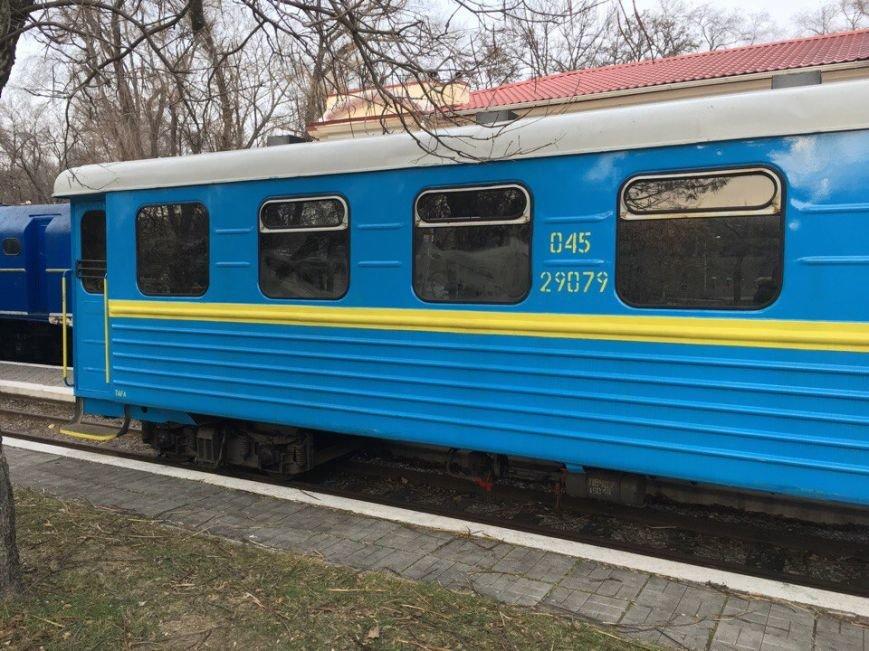 В Днепре появились новые вагоны для детской железной дороги (ФОТО), фото-1