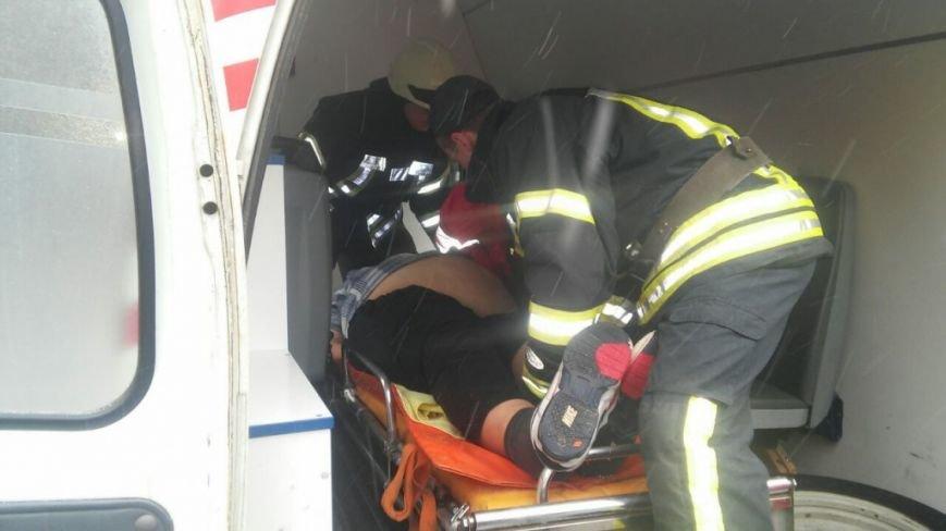 Вишневские спасатели помогли медработникам, фото-1