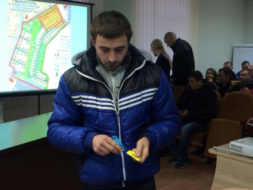В Мариуполе распределение земли участникам АТО прошло со скандалом (ФОТО, ВИДЕО), фото-12