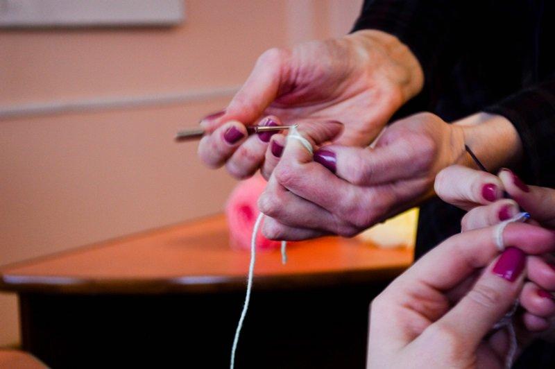 Медведя я решила превратить в мышь, или Как мы учились шить игрушки Амигуруми на мастер-классе в Новополоцке, фото-6