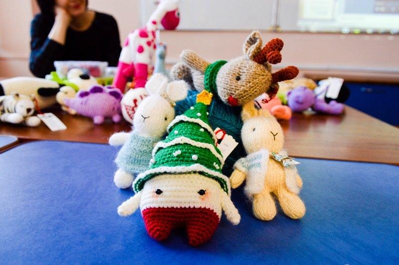 Медведя я решила превратить в мышь, или Как мы учились шить игрушки Амигуруми на мастер-классе в Новополоцке, фото-1