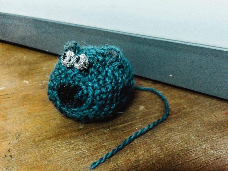 Медведя я решила превратить в мышь, или Как мы учились шить игрушки Амигуруми на мастер-классе в Новополоцке, фото-9