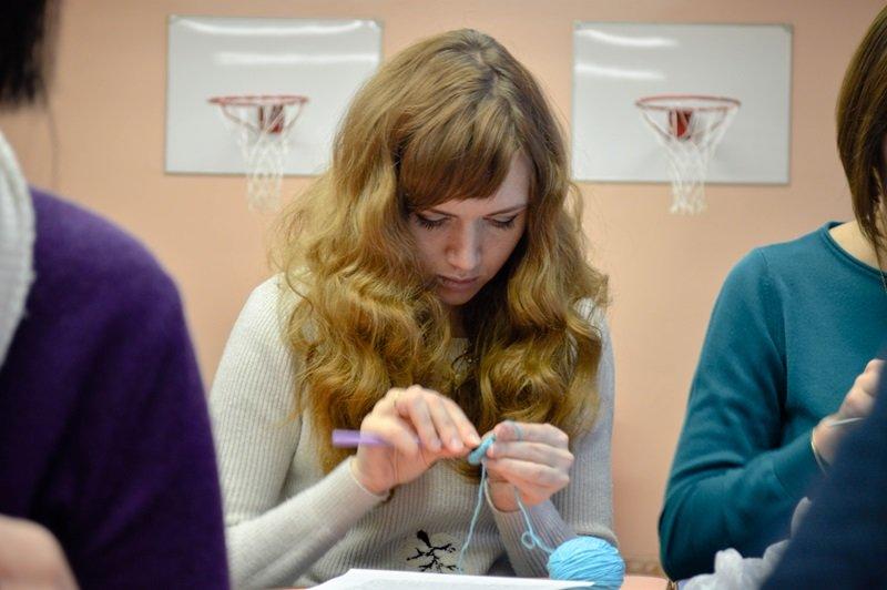 Медведя я решила превратить в мышь, или Как мы учились шить игрушки Амигуруми на мастер-классе в Новополоцке, фото-4