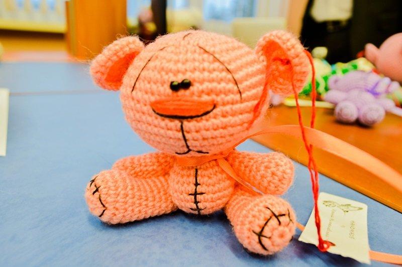 Медведя я решила превратить в мышь, или Как мы учились шить игрушки Амигуруми на мастер-классе в Новополоцке, фото-2