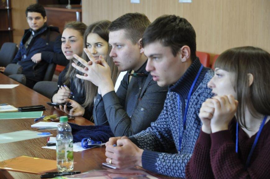 Студенты Бахмута приняли участие в форуме самоуправления, фото-3