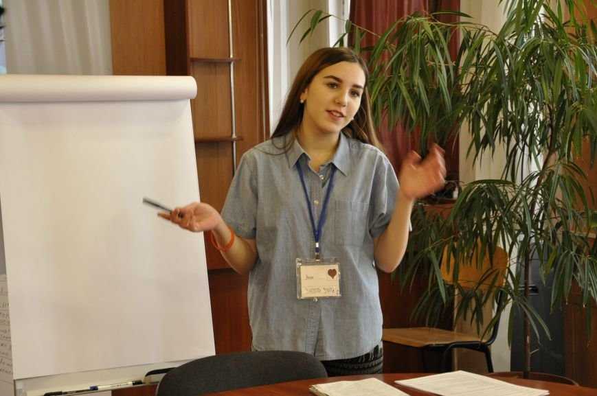 Студенты Бахмута приняли участие в форуме самоуправления, фото-2