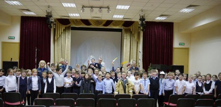 В Троицке сотрудники МЧС провели предновогодний открытый урок по безопасности для детей, фото-3