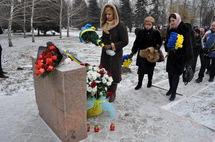 Местные власти Запорожья встретились сучастниками ликвидации последствий наЧернобыльской АЭС