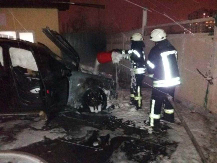 Пожар авто в Вишневом (ФОТО), фото-1