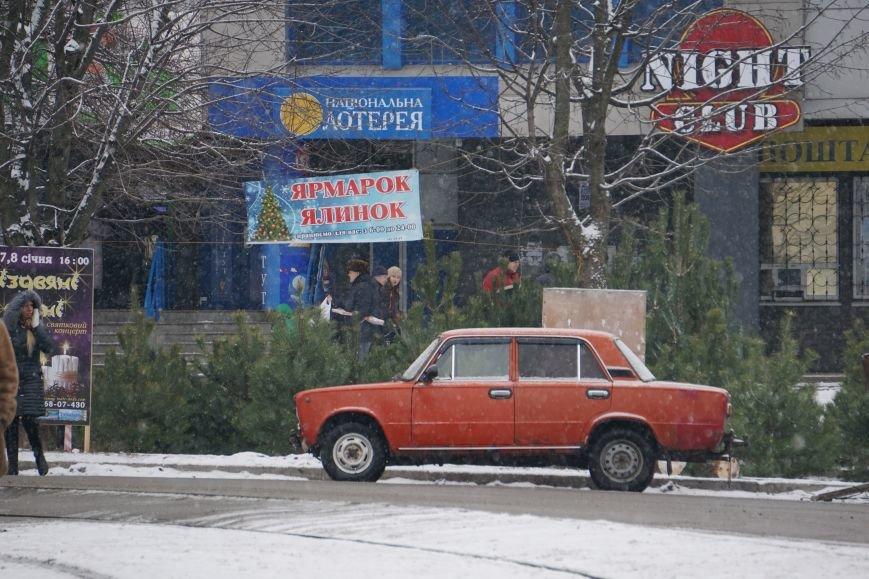 В Каменском открылись елочные ярмарки, фото-1