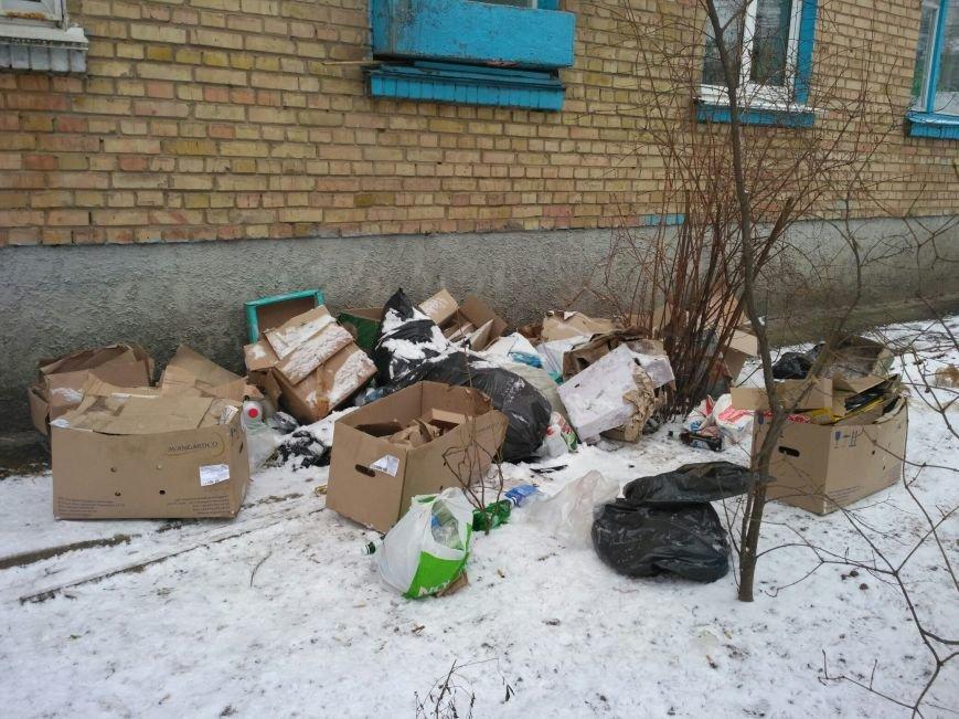 ФОТОФАКТ: свалка под окнами в Вишневом, фото-2