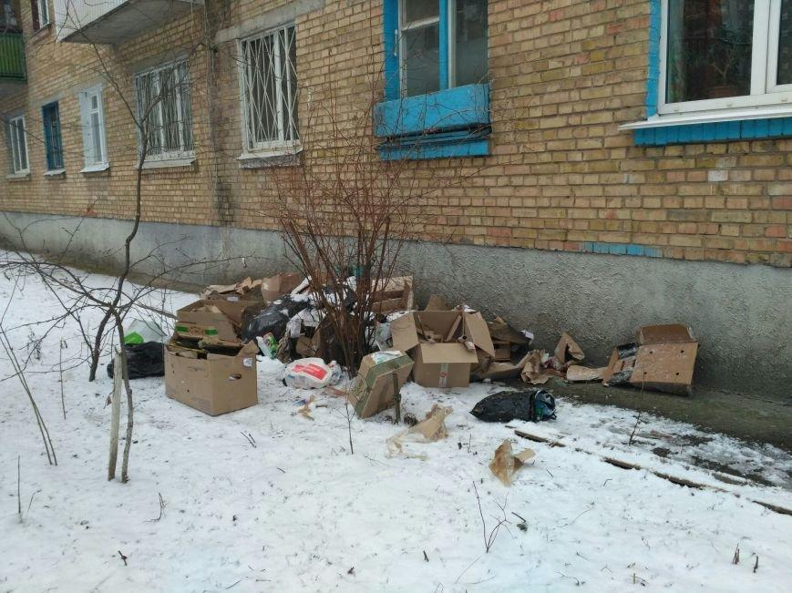 ФОТОФАКТ: свалка под окнами в Вишневом, фото-1