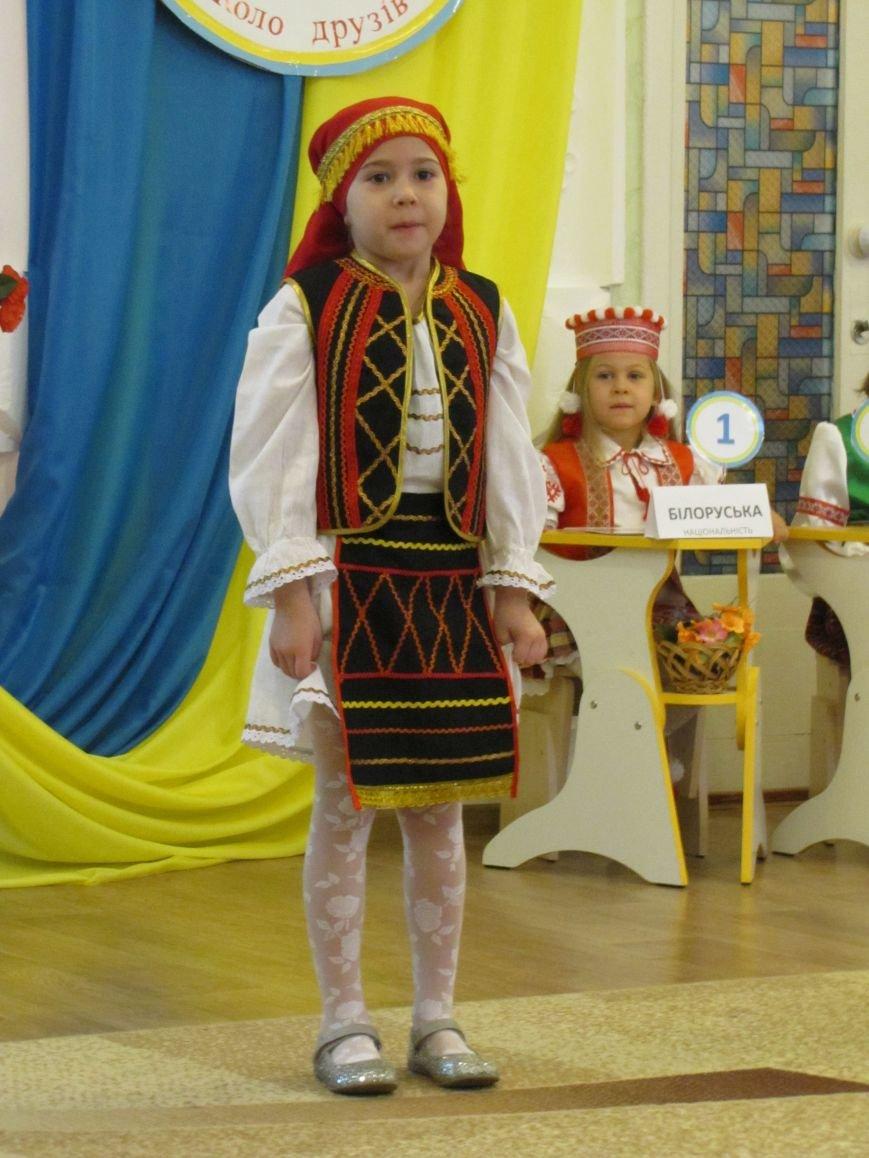 Файна панночка: дети продефилировали в национальном убранстве (фото, видео), фото-6