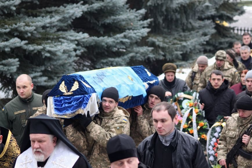 В Ужгороді попрощалися із військовослужбовцем АТО Михайлом Дзаком: фоторепортаж, фото-17