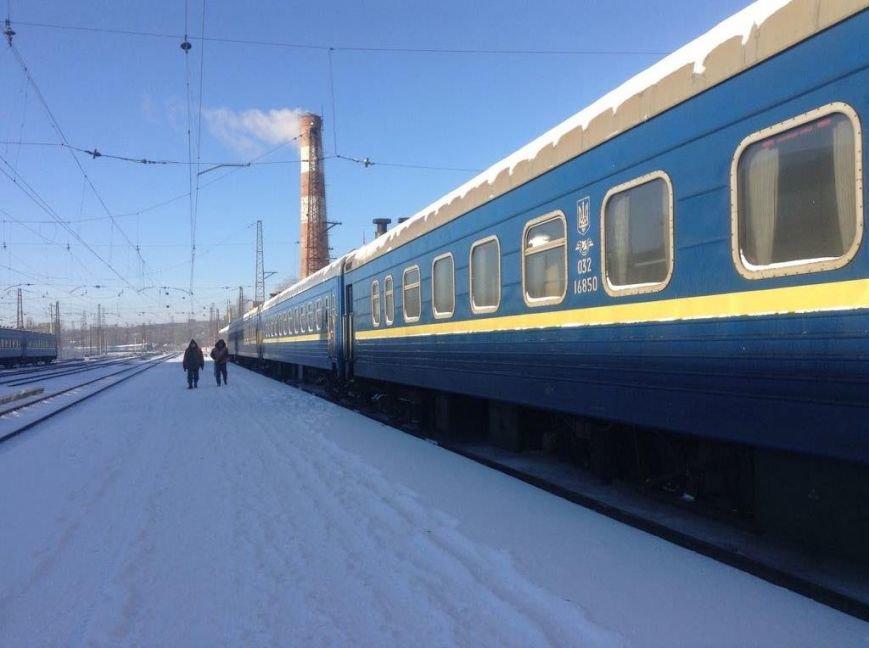В Мариуполе встретили пассажиров  уникального поезда, объединяющего Украину (ФОТО, ВИДЕО), фото-2