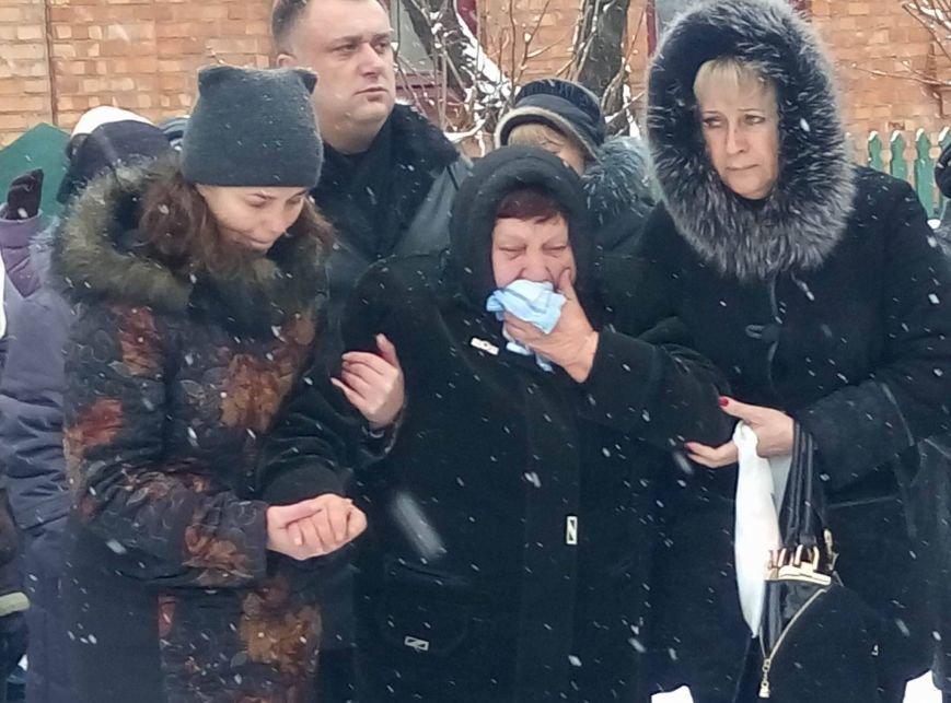 Криворожане простились с Андреем Кравченко, погибшим в АТО более 2 лет назад (ФОТО), фото-3