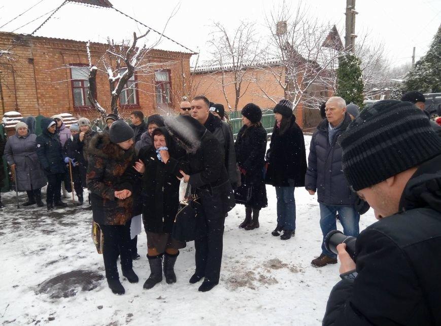 Криворожане простились с Андреем Кравченко, погибшим в АТО более 2 лет назад (ФОТО), фото-1