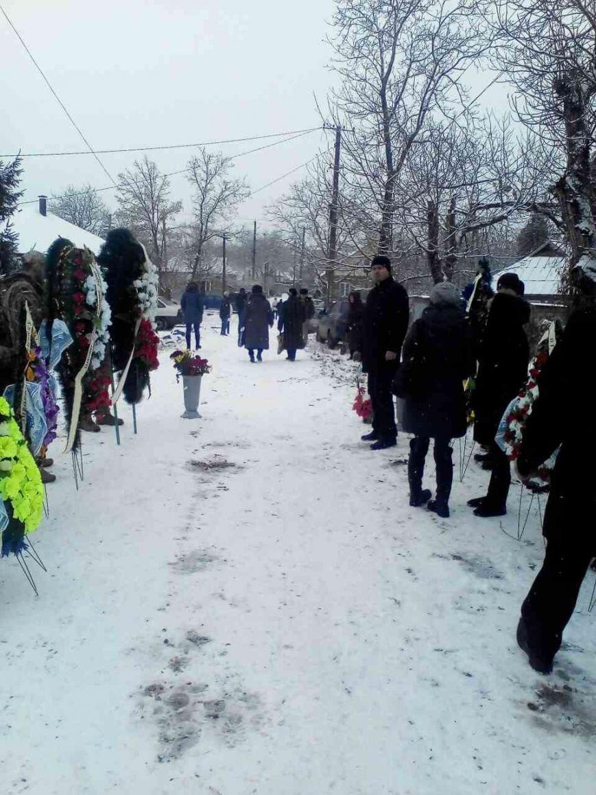 Криворожане простились с Андреем Кравченко, погибшим в АТО более 2 лет назад (ФОТО), фото-10