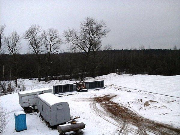 Как продвинулось строительство мемориального комплекса «Урочище «Пески» в Полоцке, фото-15