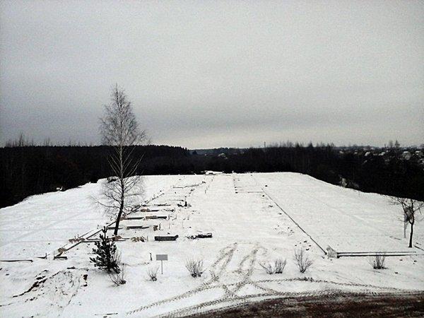 Как продвинулось строительство мемориального комплекса «Урочище «Пески» в Полоцке, фото-1