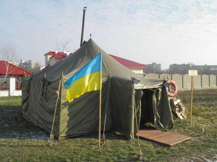 Як мер Ужгорода рятувався від холоду у пункті обігріву: фото, фото-5