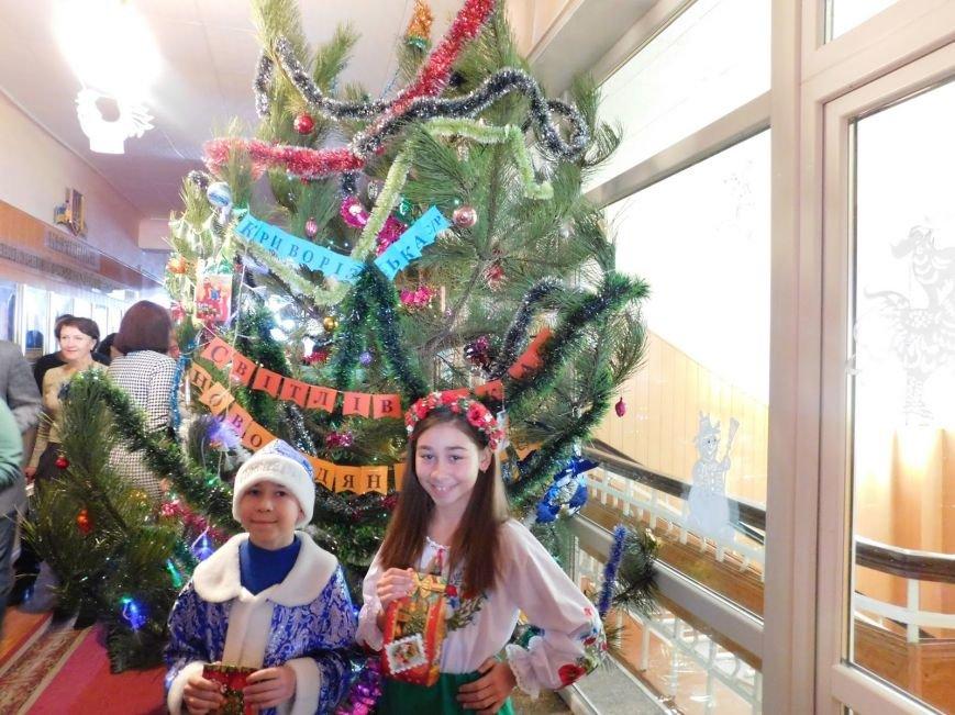 В Добропольком районе детей из льготных категорий населения поздравили с Днём Святого Николая, фото-1