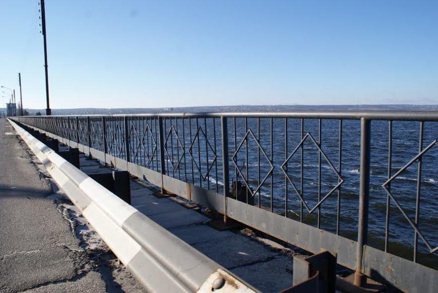 Ремонт отбойника ГЭС