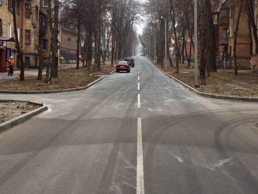 Ремонт дороги Запорожская