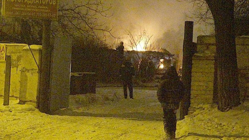 В Мариуполе на Правом берегу горел заброшенный склад(ФОТО), фото-11