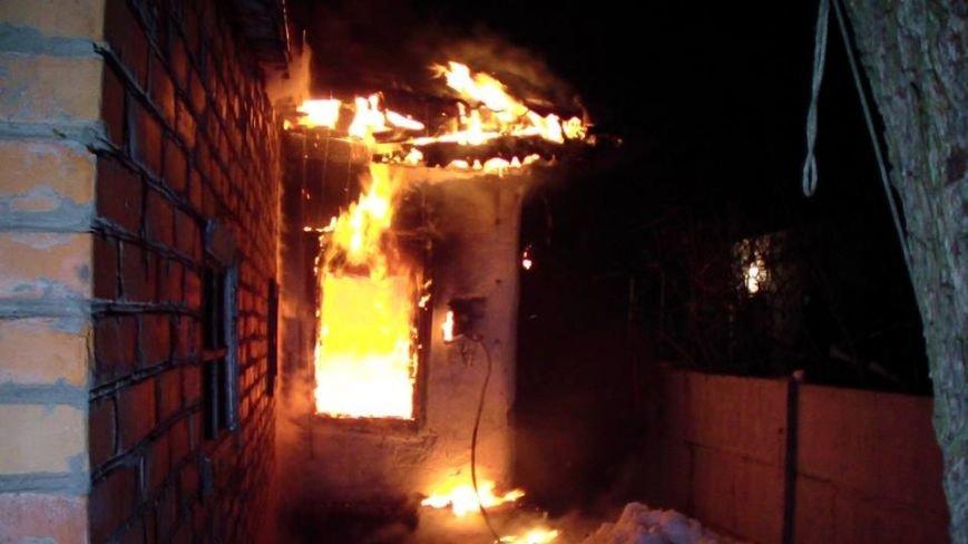 Через коротке замикання в Конотопі вночі горів будинок (ФОТО), фото-1