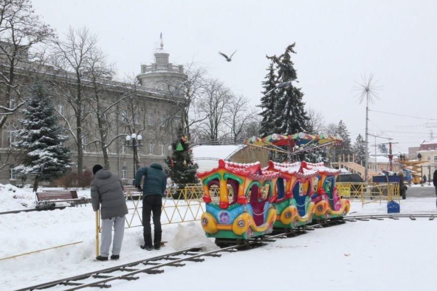Сегодня открывается главная елка Чернигова, фото-5