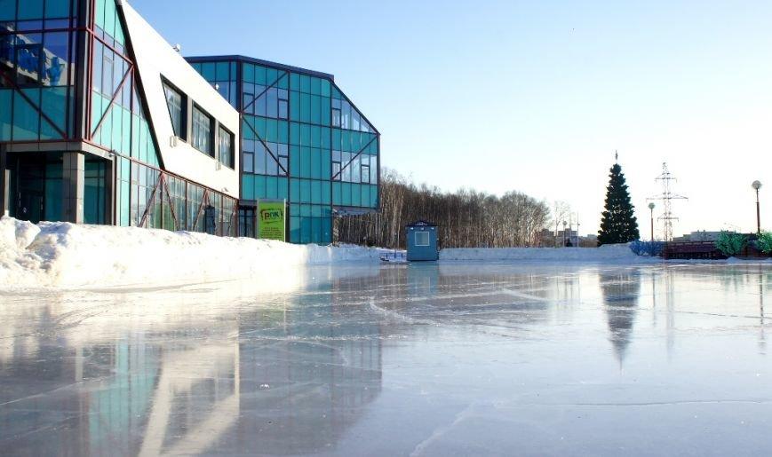 Открытый каток в Южно-Сахалинске у «Кристалла» в новогодние выходные будет бесплатным, фото-1