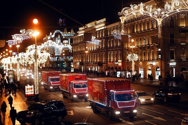 Coca-Cola HBC Россия_Рождественский караван (1)