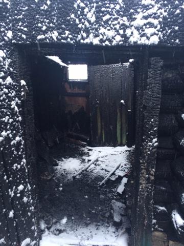В Ишеевке сгорели баня и гараж. ФОТО, фото-2