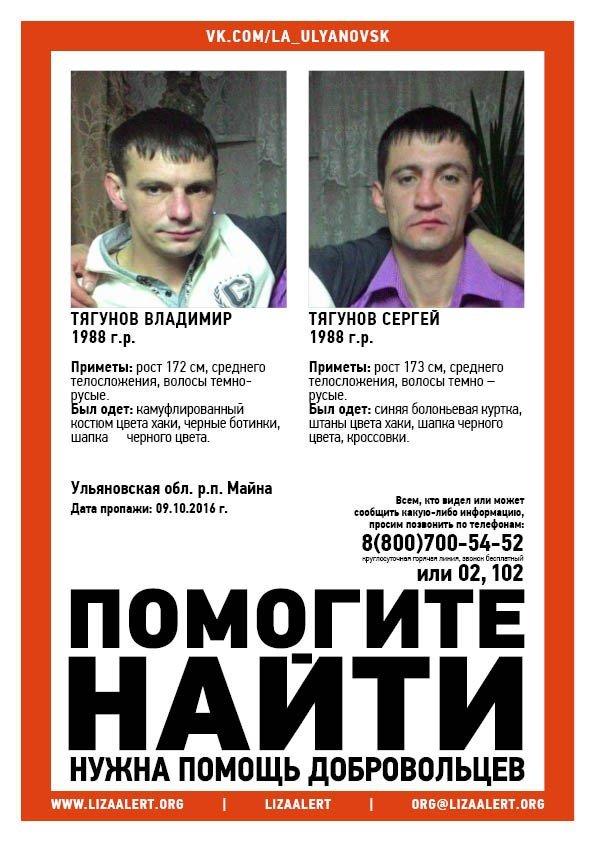 Один из пропавших ульяновских братьев объявлен в розыск, фото-1