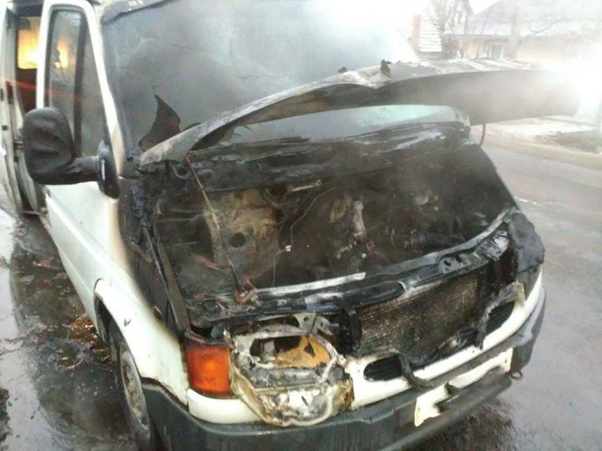 """У Берегові """"Форд"""" загорівся під час руху: фото, фото-1"""