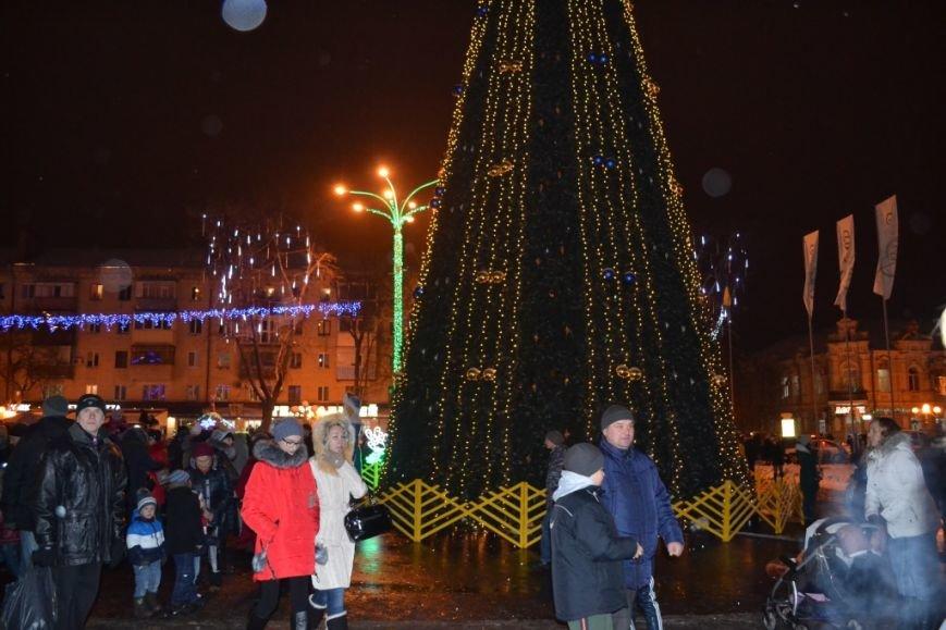 Мамай рассказал, собираются ли в Полтаве менять елку, которую ставят на Театральной площади, фото-1
