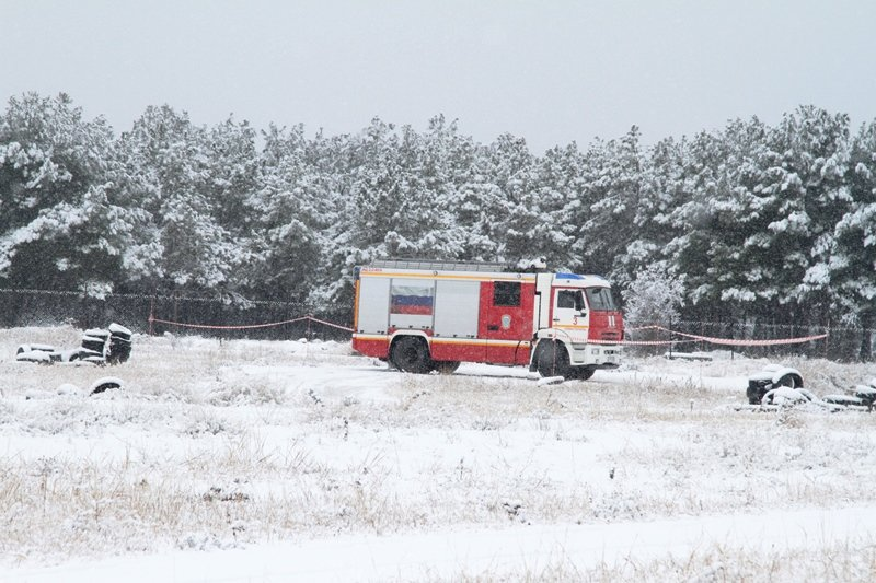 Спасатели Севастополя соревновались в скоростном маневрировании на снегу, фото-4