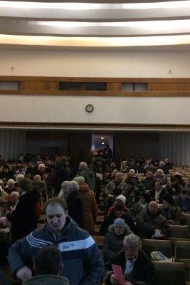 В Доме профсоюзов Днепра активисты заблокировали проведение пророссийского митинга (ФОТО), фото-1