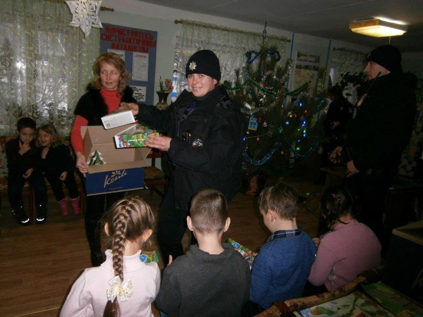 """""""В Новий рік - з Новою поліцією"""" - у Слов'янській дитячій бібліотеці відбувся новорічний захід, фото-1"""