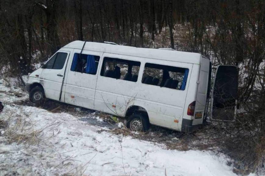 В Черниговской области в ДТП пострадало 18 пассажиров маршрутки, фото-3