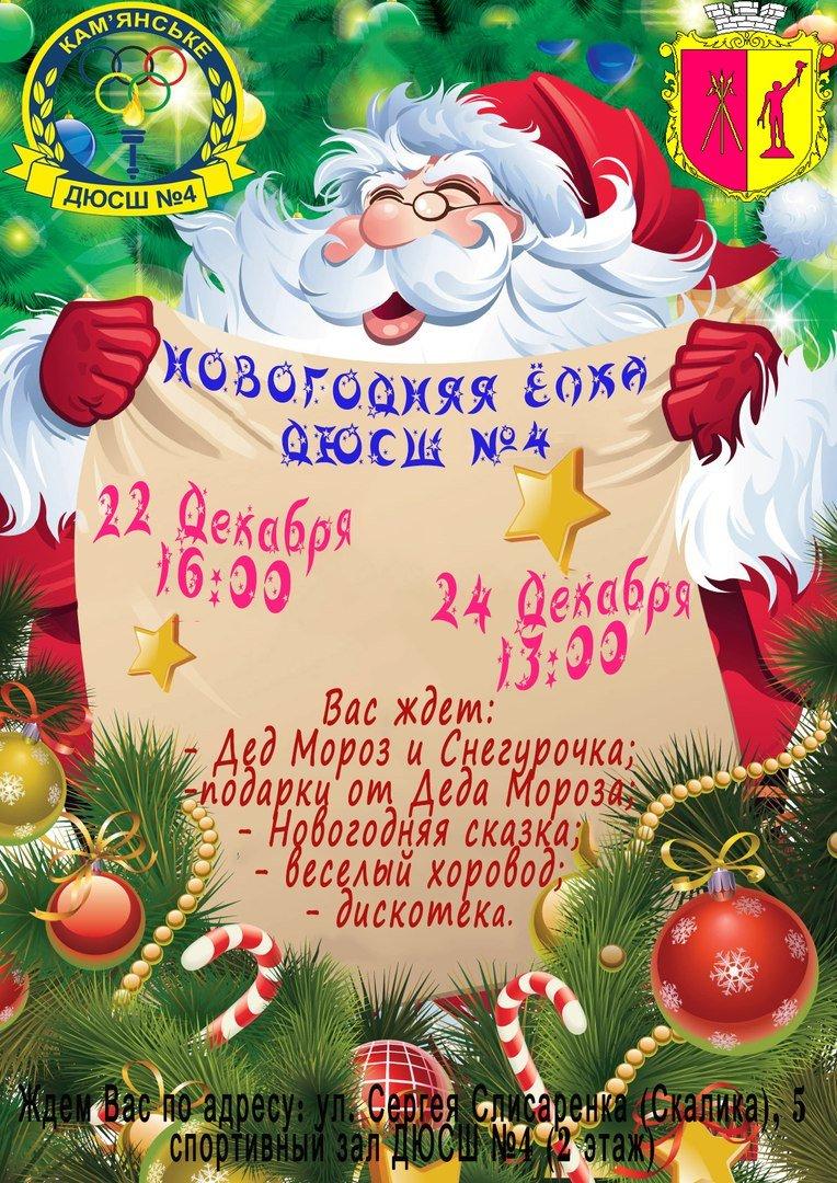 В каменской ДЮСШ пройдет новогодний праздник с участием городского головы, фото-1