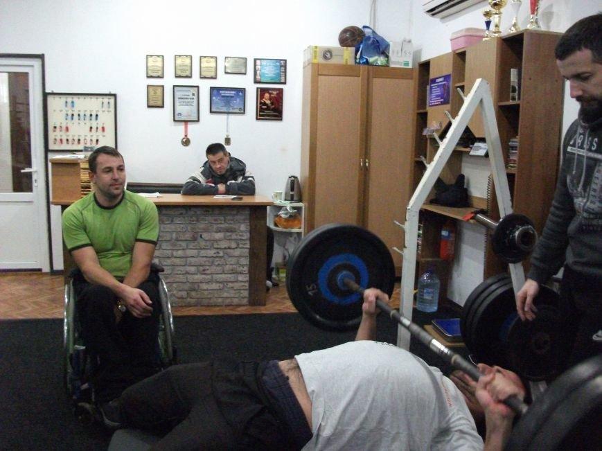 В Каменском прошли соревнования по пауэрлифтингу среди спортсменов-инвалидов, фото-4